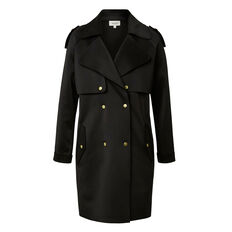 Collection Oversized Two Tone Coat