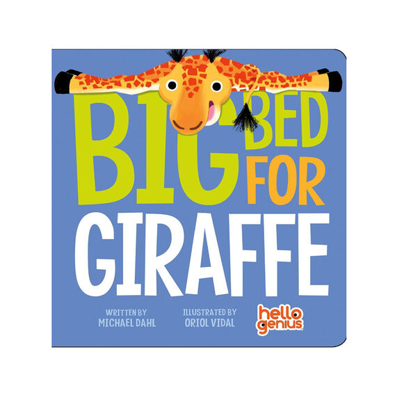 Big Bed for Giraffe Book