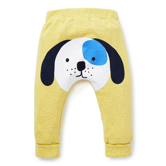 Puppy Bum Print Pant