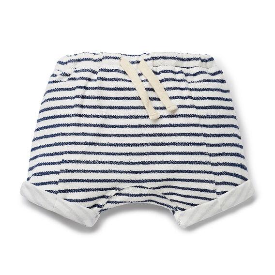 Reverse Stripe Short