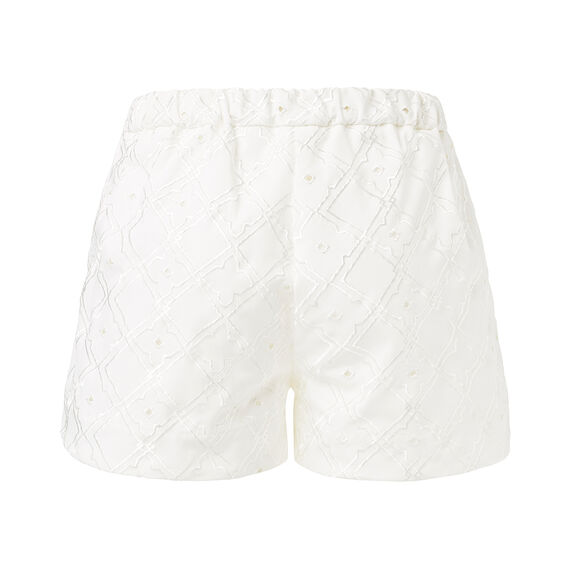 Collection Embossed Flare Short