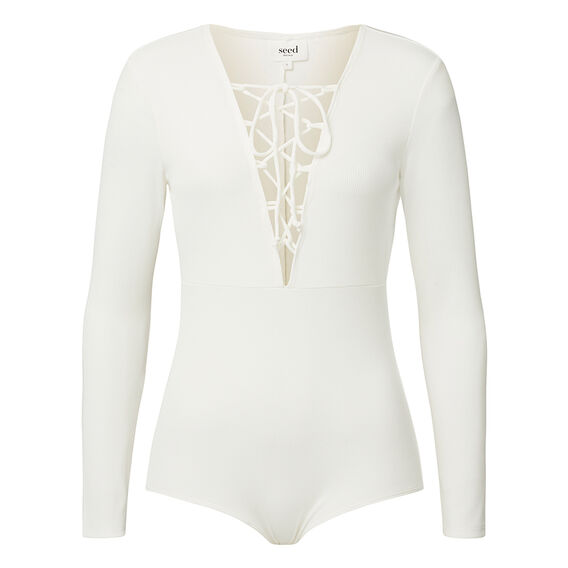 Collection Front Tie Bodysuit