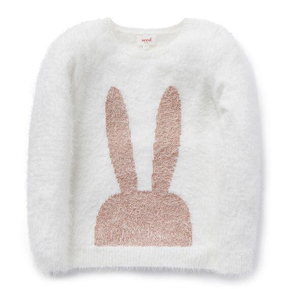 Fluffy Bunny Sweater