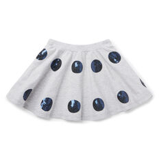 Sequin Spot Skirt