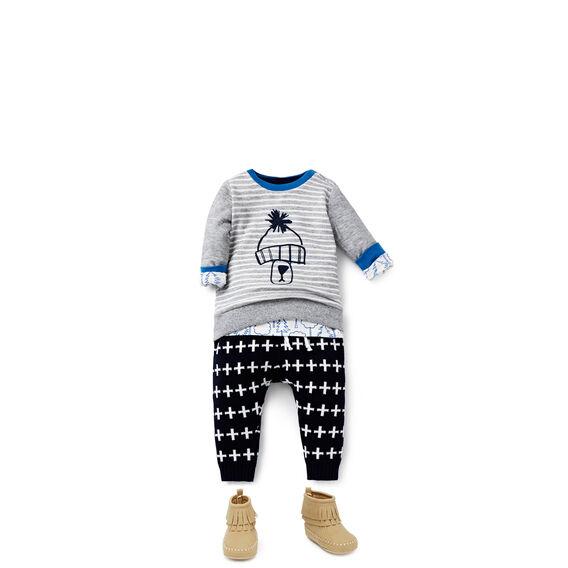 Cross Knit Pant