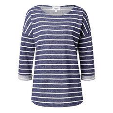 Terry Stripe Sweater
