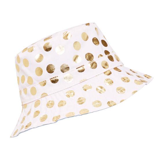 Foil Spot Sun Hat