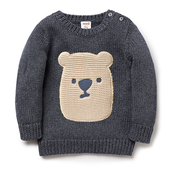 Knitted Bear Sweater