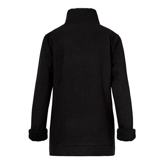 Wool And Shearling Coat