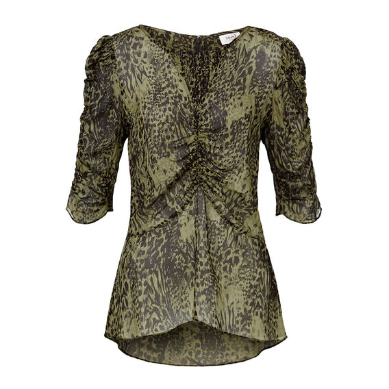Collection Rouched Sleeve Top