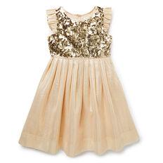 Sequin And Lurex Dress
