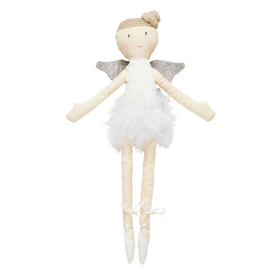 Flutterby Top Knot Doll