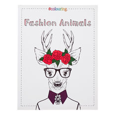 Fashion Animals Colour book