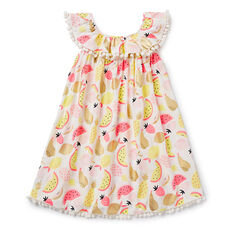 Foil Fruit Dress