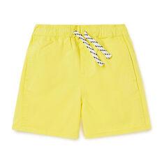 Panelled Short