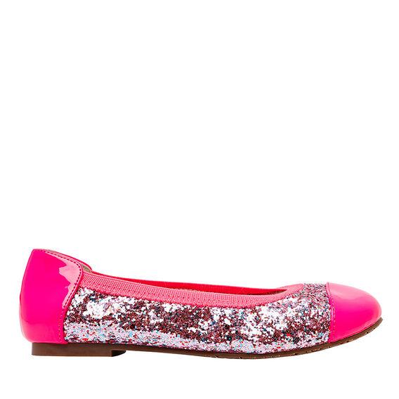 Glitter Patent Ballet