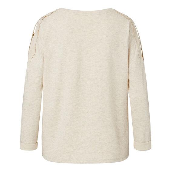 Marle Shoulder Sweater