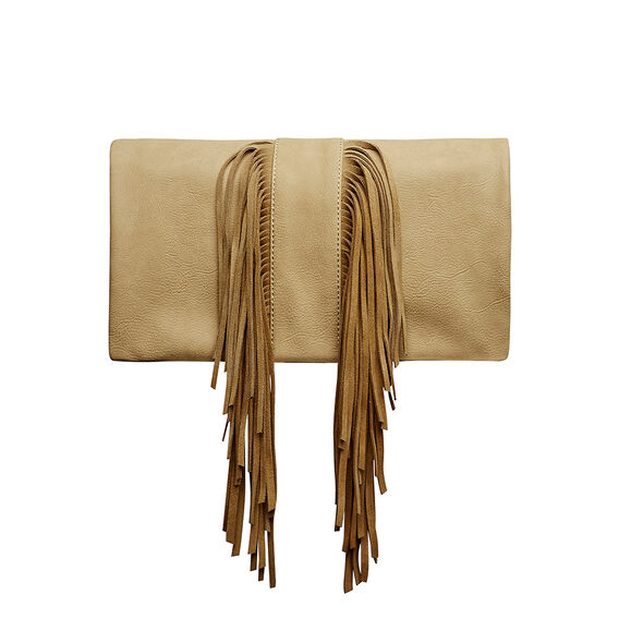 Fringed Clutch