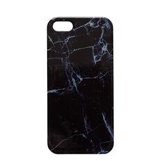 Black Marble Look Phone Case 5