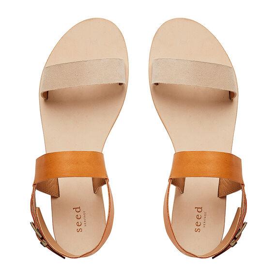 Juliet Two Tone Sandal