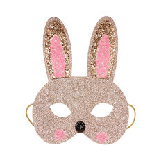 Gold Bunny Mask