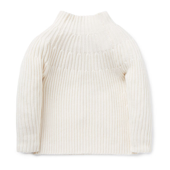 Funnel Cable Sweater
