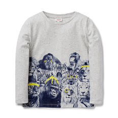 Animals LS Tee