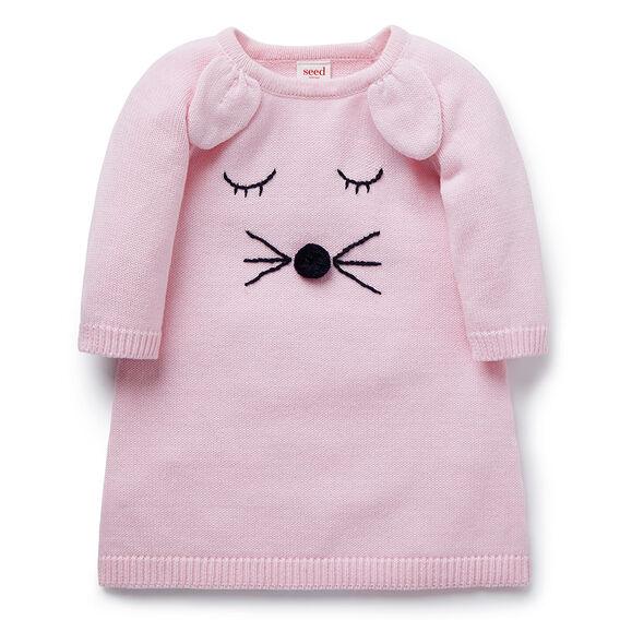 Bunny Knit Dress