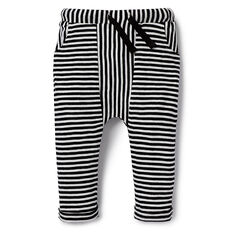 Black & White Stripe Pant