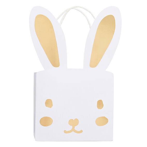 Gold Foil Bunny Bags