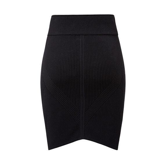 Detail Crepe Skirt