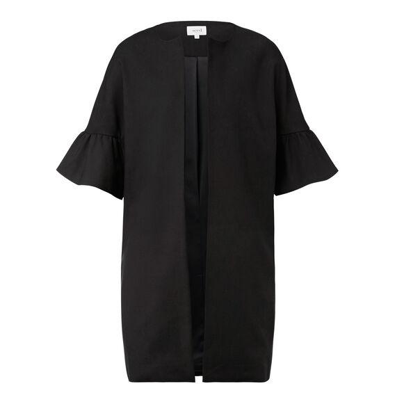Cocoon Frill Jacket