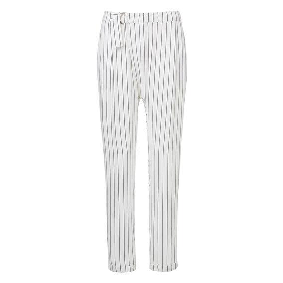 Wrap Over Stripe Pant