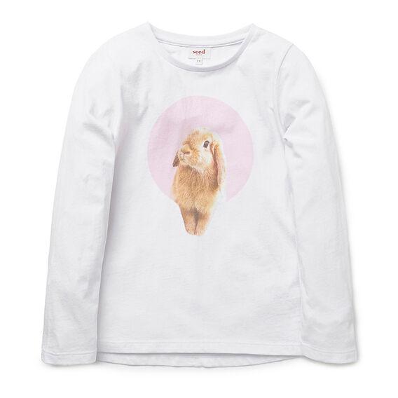 Bunny In Spot LS Tee