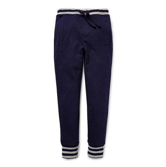 Contrast Pocket Track Pants