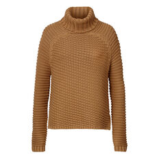 Roll Neck Raglan Sweater