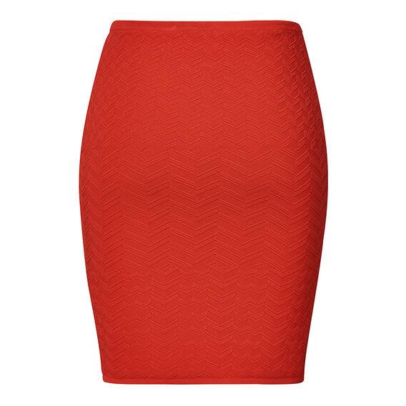 Textured Crepe Skirt