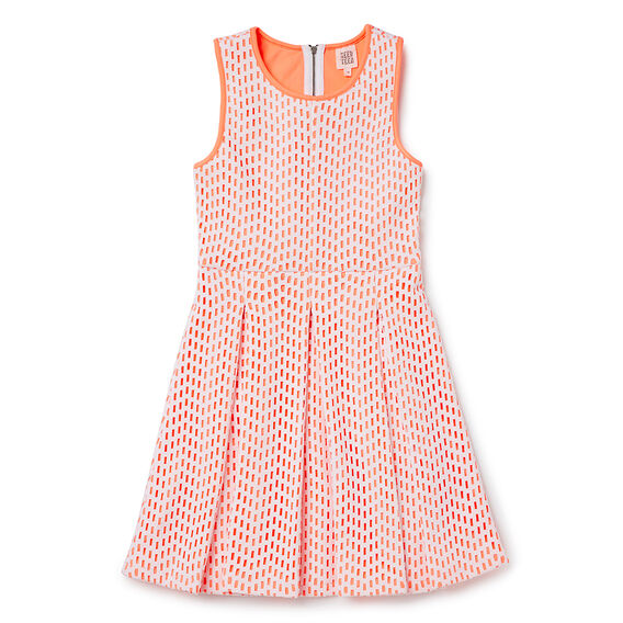 Scuba Lazercut Dress