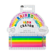Rainbow Neon Crayon