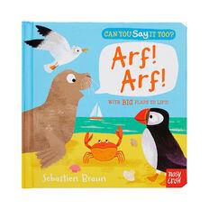 Say It Too? Arf! Arf! Book