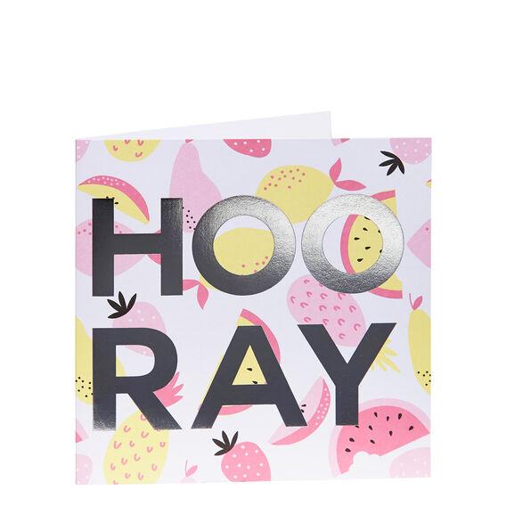 Hooray Card