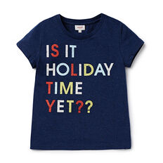 'Is It Time Yet' SS Tee
