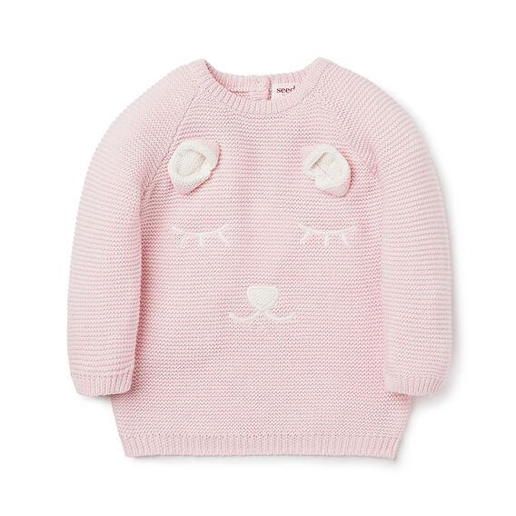 Smiley Bear Sweater