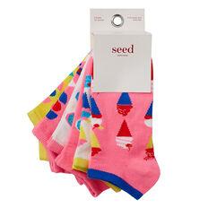 Dessert Print Socks- 6 Pack