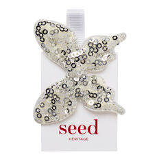 Sequin Butterfly Duck Clip