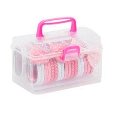 Pink Glitter Tackle Box