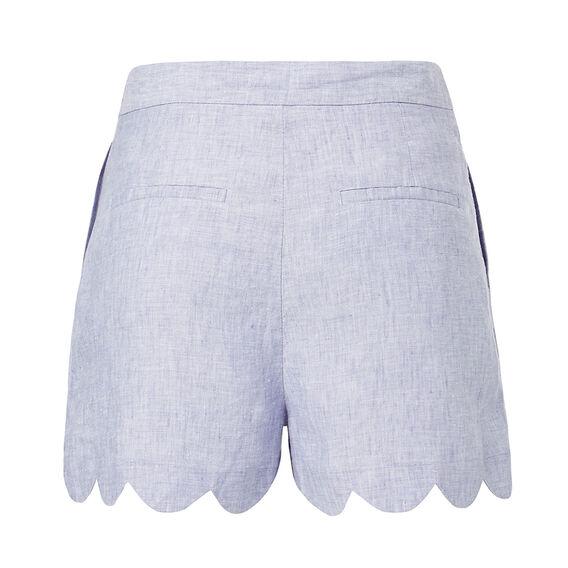 Scallop Hem Short