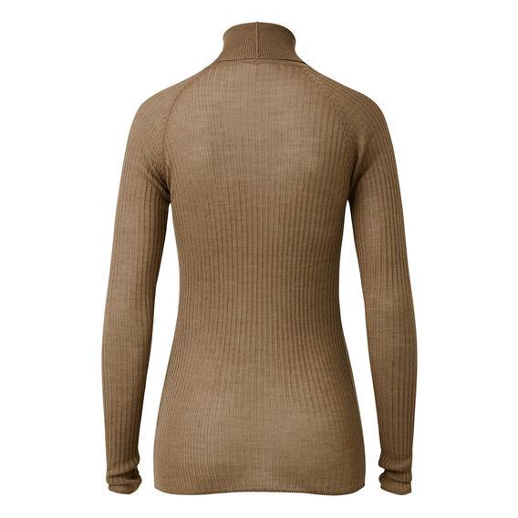 Rib Roll Neck Sweater