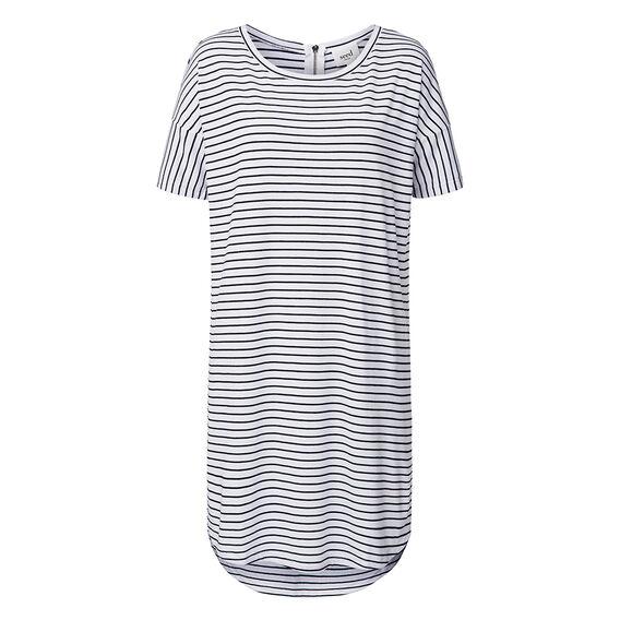 2 Stripe Tee Dress