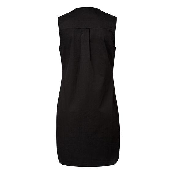 Laceup Shirt Dress